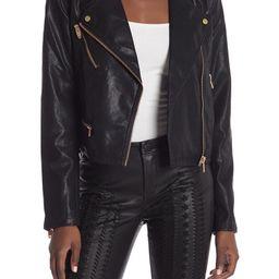 Faux Leather Moto Jacket | Nordstrom Rack