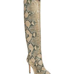 Kervana Croc Embossed Knee High Boot   Nordstrom Rack