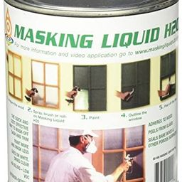 ASSOCIATED PAINT Available 157026 80-400-4 H20 Masking Liquid, 1 Quart, Clear, 32 Fl Oz | Amazon (US)