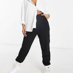 ASOS DESIGN oversized sweatpants in black | ASOS (Global)