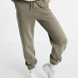 ASOS DESIGN oversized sweatpants in pale khaki | ASOS (Global)