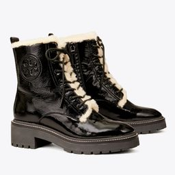 Miller Shearling Lug Sole Boot   Tory Burch (US)