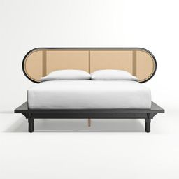 Anaise Cane Bed | Crate and Barrel | Crate & Barrel