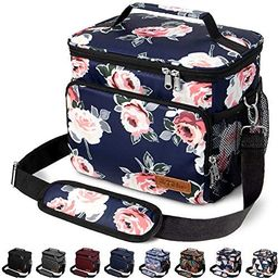 Amazon.com: Insulated Lunch Bag for Women/Men - Reusable Lunch Box for Office Work School Picnic ... | Amazon (US)