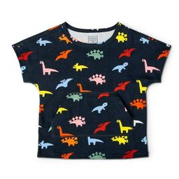 Toddler Adaptive Dino Short Sleeve T-Shirt - Christian Robinson x Target Navy | Target