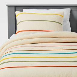 Multi-Stripe Comforter Set - Christian Robinson x Target | Target