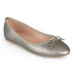 Brinley Co. Women's Classic Bow Round Toe Casual Ballet Flats | Walmart (US)