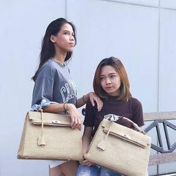 Readystock ! Handmade burlap / jute bag, Medium size (35cm) read description before order!   Etsy (US)