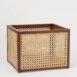Rattan Storage Basket   H&M (US)