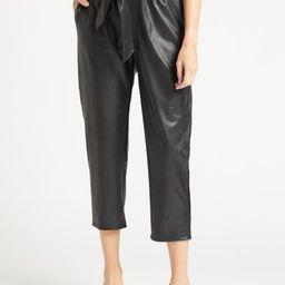 Commando  Faux Leather Paper-Bag Pant | Evereve