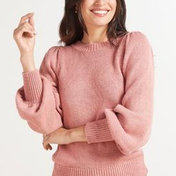 525  Finley Puff Pullover | Evereve