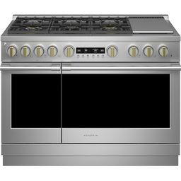 Monogram 8.25 Cu. Ft. Freestanding Double Oven Dual Fuel Convection Range with 6 Burners Stainles... | Best Buy U.S.