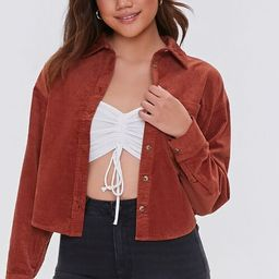 Corduroy Button-Up Shirt | Forever 21 (US)
