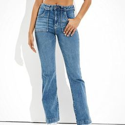 AE Ne(x)t Level Super High-Waisted Flare Jean | American Eagle Outfitters (US & CA)