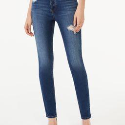 Scoop Women's Essential Skinny Jeans - Walmart.com   Walmart (US)