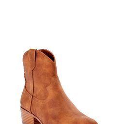 Time and Tru Women's Pull On Western Boot - Walmart.com | Walmart (US)