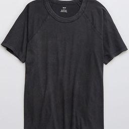 Aerie Distressed Raglan Boyfriend T-Shirt   American Eagle Outfitters (US & CA)