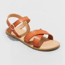 Girls' Pasha Ankle Strap Sandals - Cat & Jack™ | Target