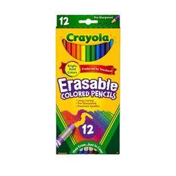 Crayola Erasable Colored Pencils 12ct | Target