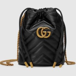 GG Marmont mini bucket bag | Gucci (US)