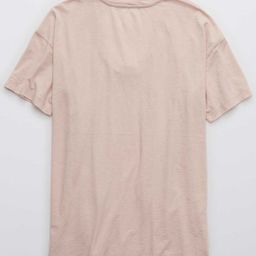 Aerie Rope Voop Boyfriend T-Shirt | American Eagle Outfitters (US & CA)