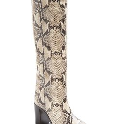 Women's Analeah Croc-Embossed Pointed-Toe Tall Boots   Bloomingdale's (US)