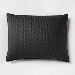 Cashmere Blend Quilted Pillow Sham - Casaluna™ | Target