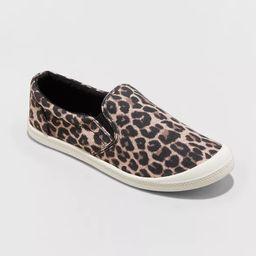 Women's Mad Love Kasandra Slip on Canvas Sneakers   Target