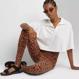 Women's High-Waisted Classic Leggings - Wild Fable™   Target