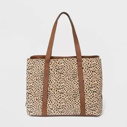 Triple Compartment Tote Handbag - Universal Thread™   Target