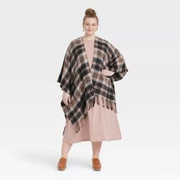 Women's Plaid Wrap Jacket - Universal Thread™   Target