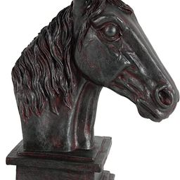 A&B Home Polyresin Horse Head   Amazon (US)