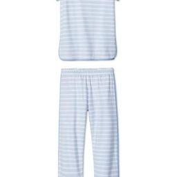Pima Short-Long Set in Seaside | LAKE Pajamas