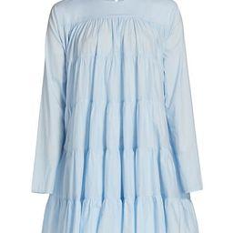 Soliman Tiered Mini Dress | Saks Fifth Avenue