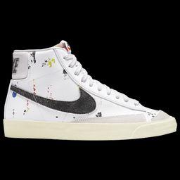 Nike Mens Nike Blazer Mid '77 - Mens Shoes White/Black/Orange Size 11.0 | Foot Locker (US)