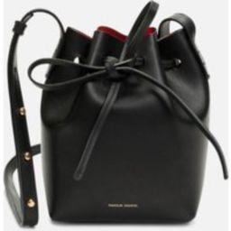 Mansur Gavriel Women's Mini Mini Bucket Bag - Black/Flamma | Coggles (Global)