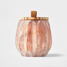 15oz Acorn Glass Jar with Wooden Wick Pumpkin Spice Candle - Threshold™   Target