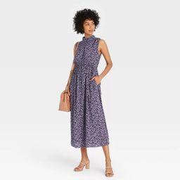 Women's Sleeveless Cinched Waist Dress - A New Day™ | Target