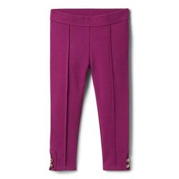 Button-Cuff Ponte Pant | Janie and Jack