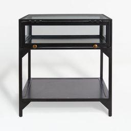 Ventana Display End Table | Crate and Barrel | Crate & Barrel