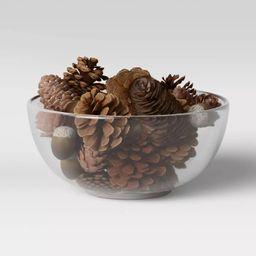 Acorn and Pinecone Vase Filler Brown - Threshold™ | Target