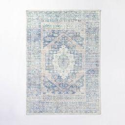 Brighton Distressed Vintage Persian Rug Light Blue - Threshold™ designed with Studio McGee   Target