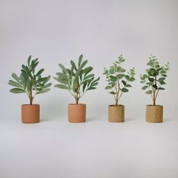 """4ct 6"""" Potted Artificial Trees - Bullseye's Playground™ 
