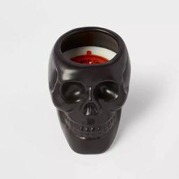 Ceramic Skull Figural Black Candle - Hyde & EEK! Boutique™ | Target