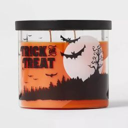 15oz Lidded Glass Jar Trick or Treat Candle - Hyde & EEK! Boutique™ | Target