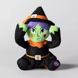 Animated Plush Witch Halloween Decorative Prop - Hyde & EEK! Boutique™ | Target