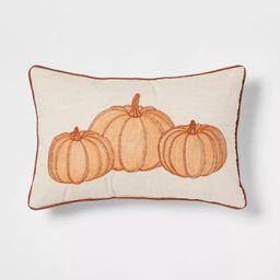 Pumpkin Lumbar Throw Pillow - Threshold™ | Target
