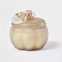 Medium Pumpkin Vanilla Pumpkin Stucco Candle - Threshold™ | Target