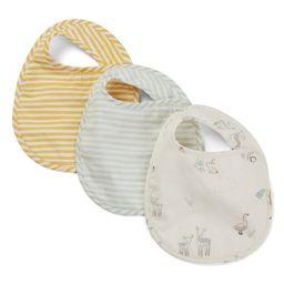 Just Hatched Stripes Away 3-Pack Bibs | Nordstrom | Nordstrom
