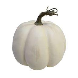 "6"" Cream Medium Pumpkin by Ashland® | Michaels Stores"